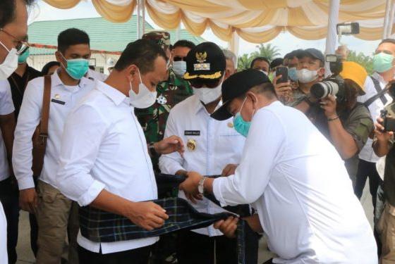 Bupati Simalungun Sambut Kunjungan Menteri Investasi RI ke KEK Sei Mangkei